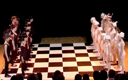 Chessboard Dance